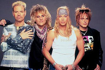 Poison Brett Michaels and company